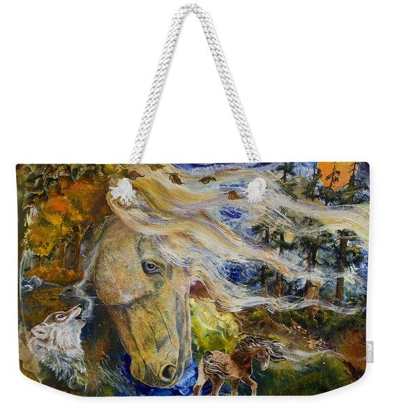 The Wayward Wind Weekender Tote Bag