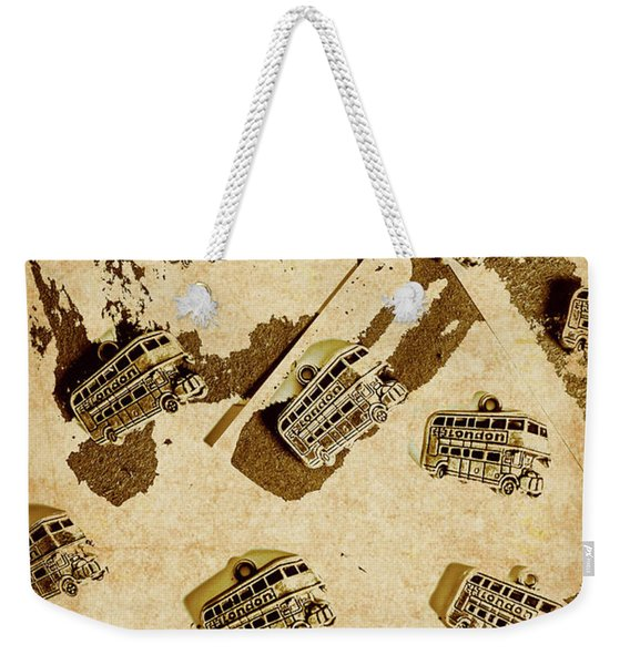 The Weathered Downtown Weekender Tote Bag