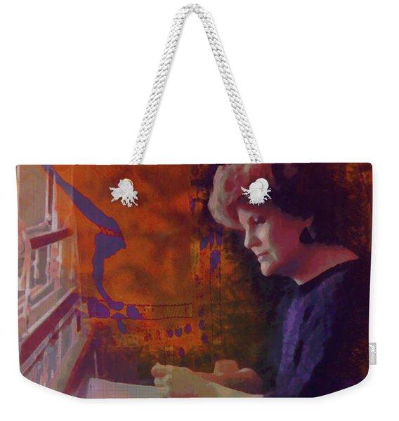 The Weaver Weekender Tote Bag