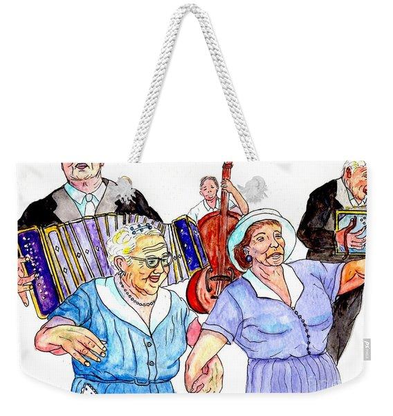 The Wedding - Life On The Stoop Weekender Tote Bag
