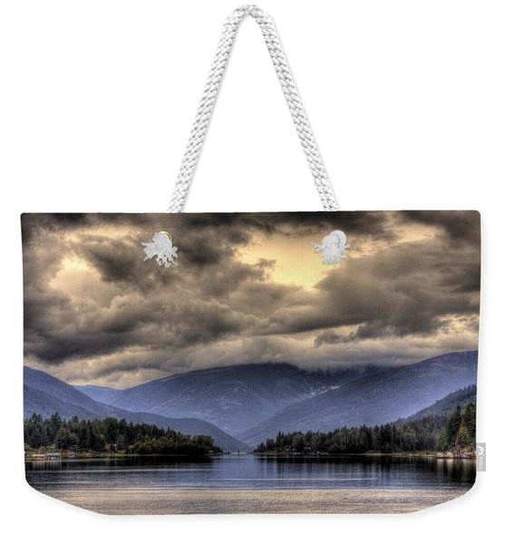 The West Arm Of Kootenai Lake Weekender Tote Bag