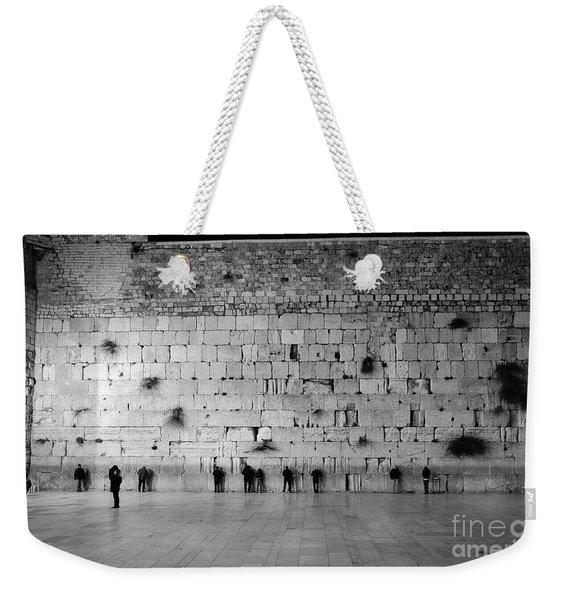 The Western Wall, Jerusalem 2 Weekender Tote Bag
