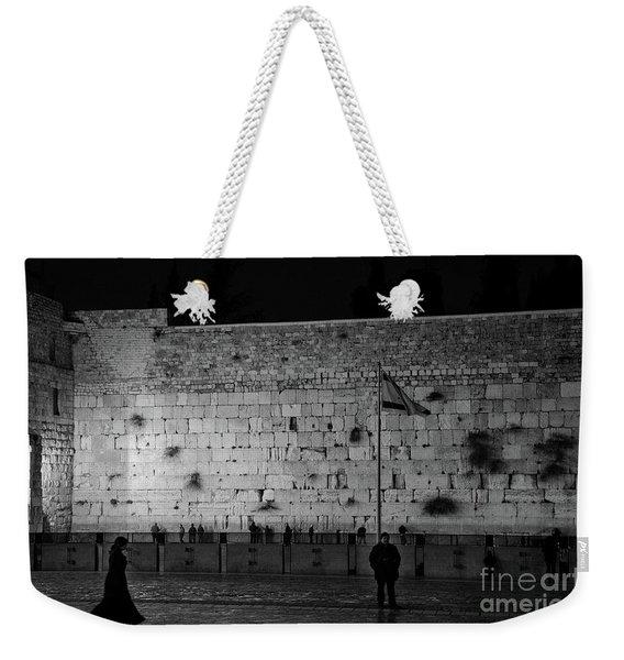 The Western Wall, Jerusalem Weekender Tote Bag