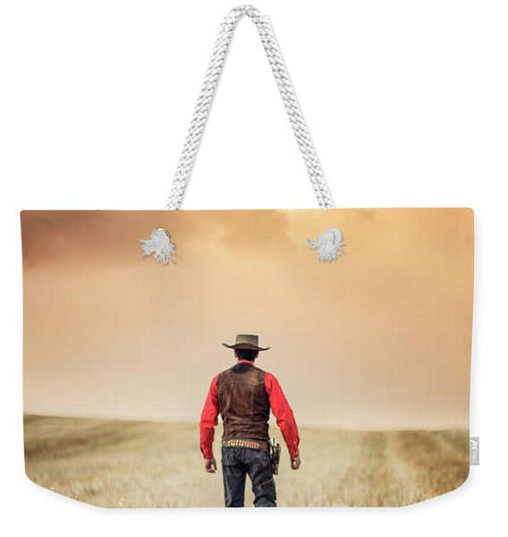 The Westerner Weekender Tote Bag