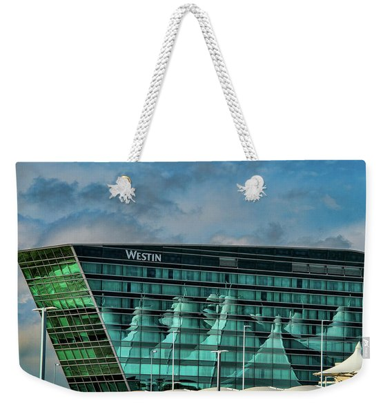 The Westin At Denver Internation Airport Weekender Tote Bag