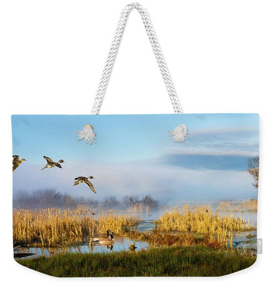 The Wetlands Weekender Tote Bag