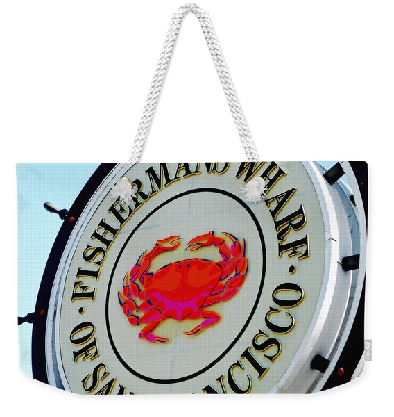 The Wharf Weekender Tote Bag