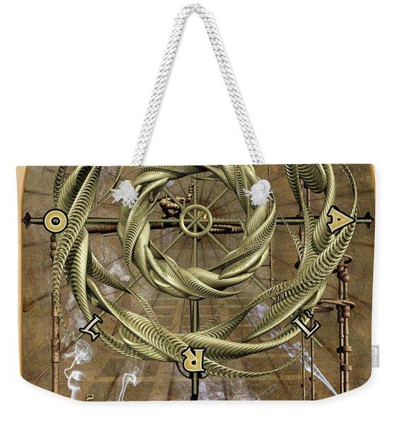 The Wheel Of Fortune Weekender Tote Bag