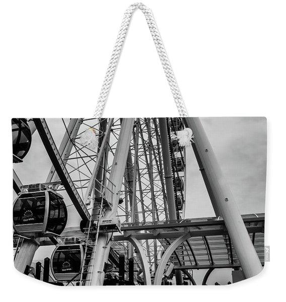 The Wheel Seattle  Weekender Tote Bag