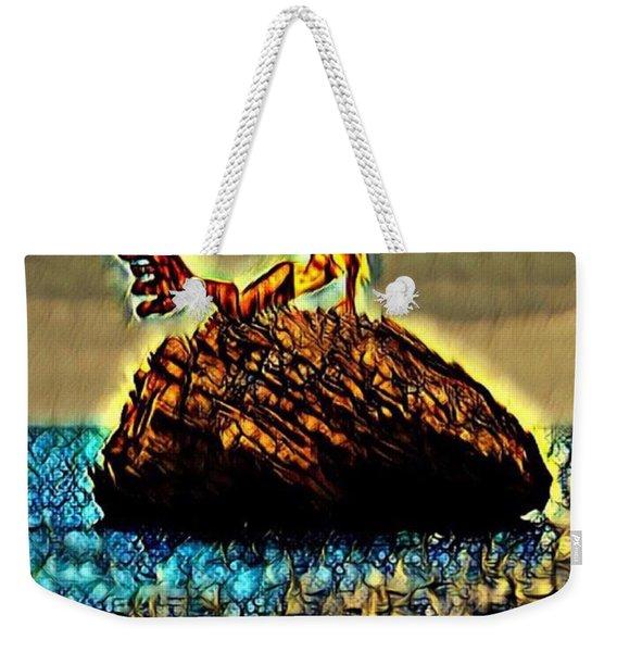 The Whisperer Weekender Tote Bag