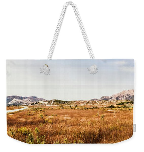 The Wide West Weekender Tote Bag