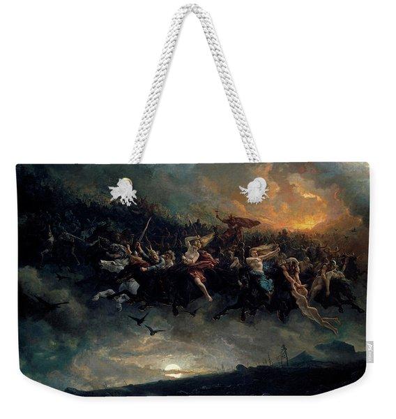 The Wild Hunt Of Odin Weekender Tote Bag