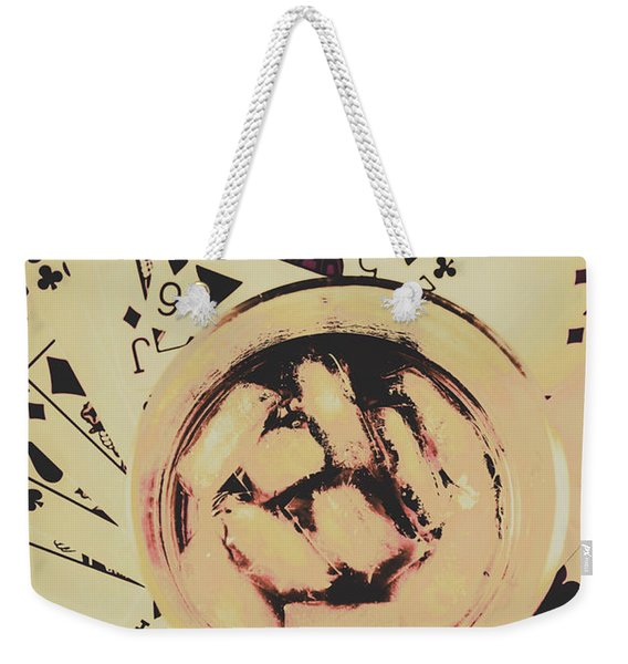 The Wild West Casino  Weekender Tote Bag
