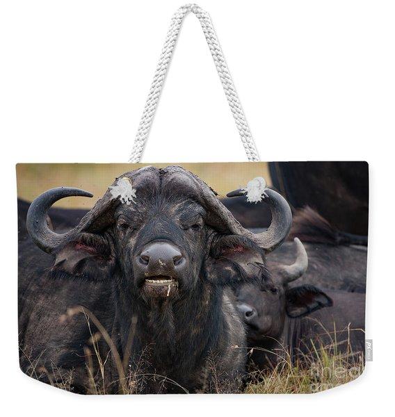 The Wilderbeast Weekender Tote Bag