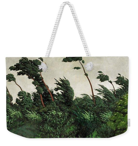 The Wind Weekender Tote Bag