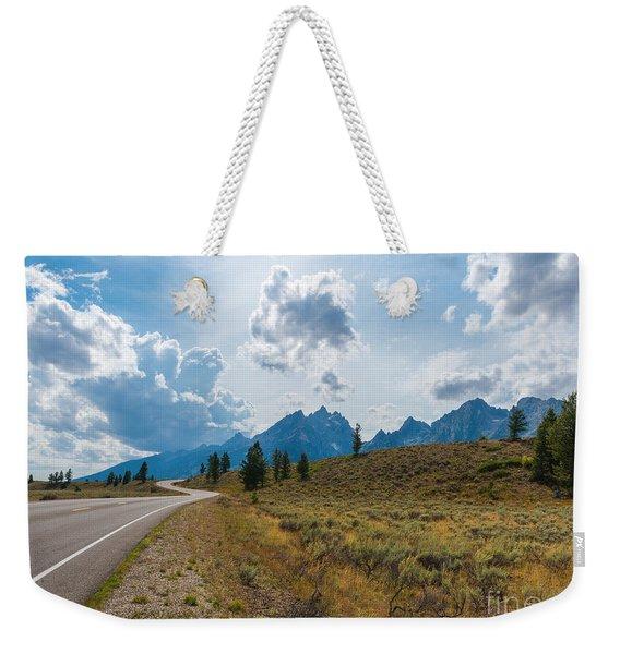 The Winding Road Weekender Tote Bag