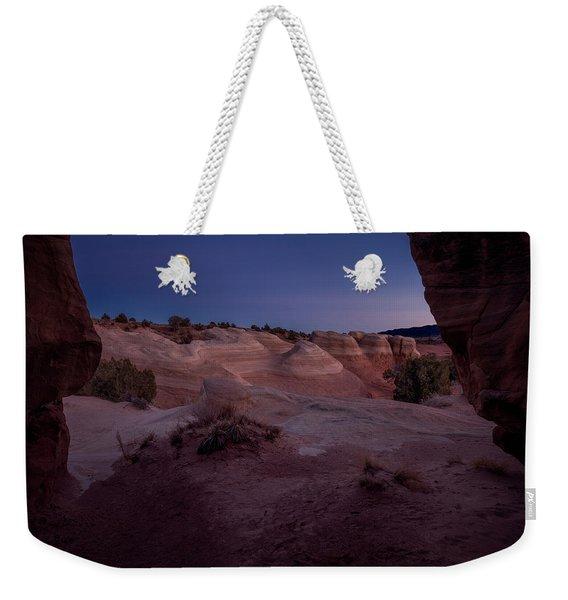 The Window In Desert Weekender Tote Bag