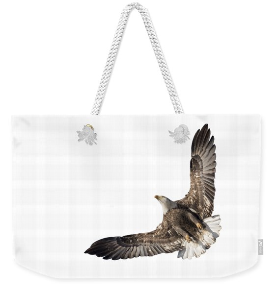 The Wings Of An Eagle 2018 Isolated Weekender Tote Bag