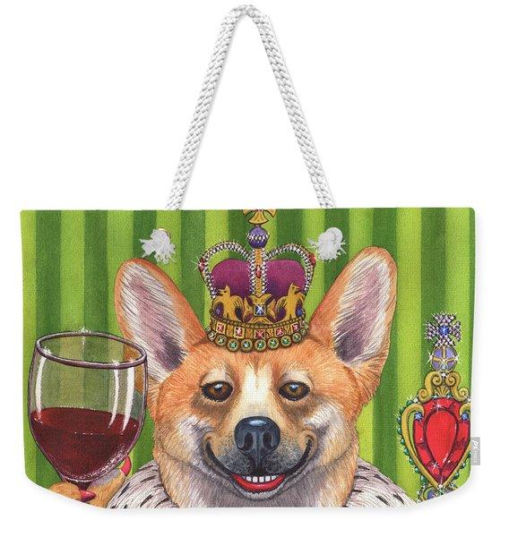 The Wining Queen Weekender Tote Bag