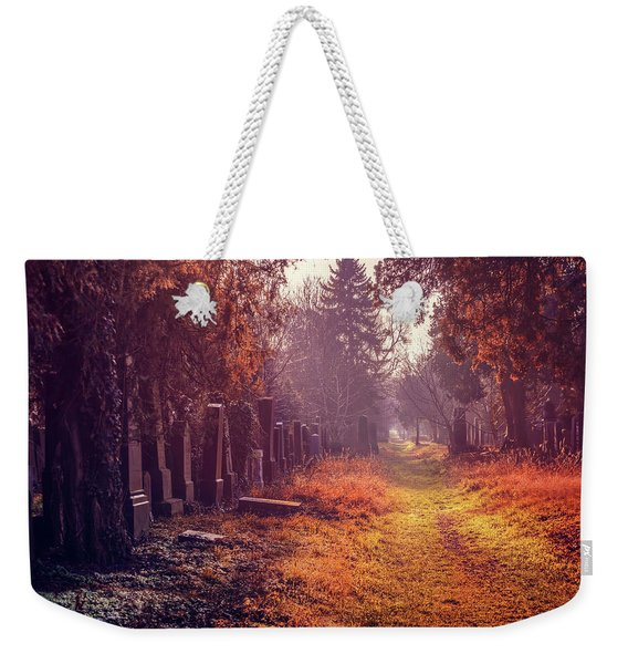 The Winter Path  Weekender Tote Bag