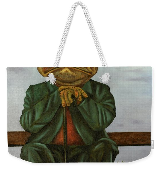 The Wise Toad Weekender Tote Bag