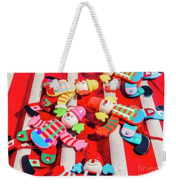 The Wood Circus Weekender Tote Bag