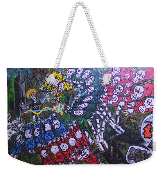 The Wooorship Weekender Tote Bag