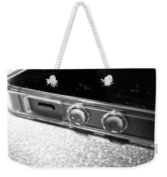 The Work Phone Weekender Tote Bag