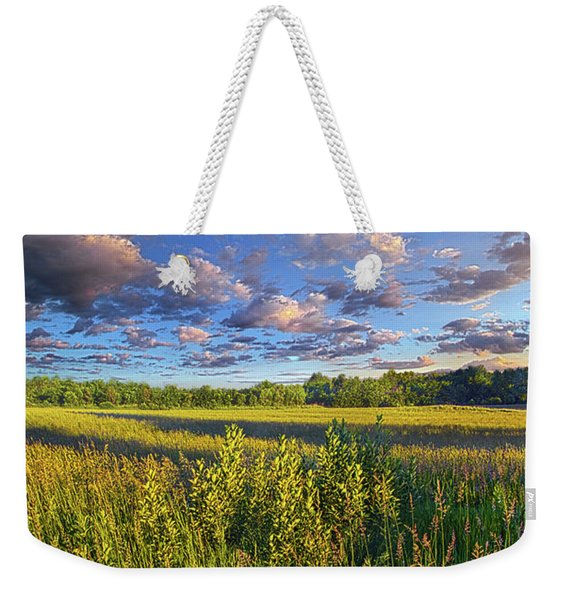 The World Is Quiet Here Weekender Tote Bag