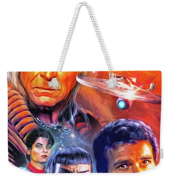 The Wrath Of Kahn Weekender Tote Bag
