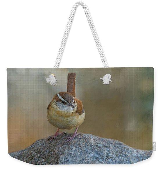 The Wren Weekender Tote Bag