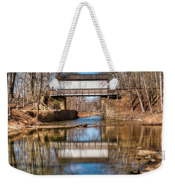 The Wrench House Weekender Tote Bag