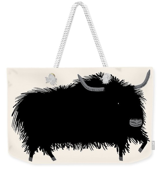 The Yak Weekender Tote Bag