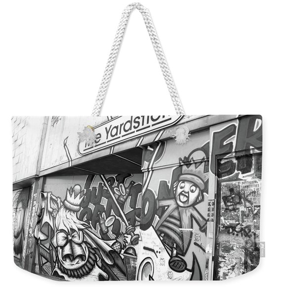 The Yardstick Weekender Tote Bag