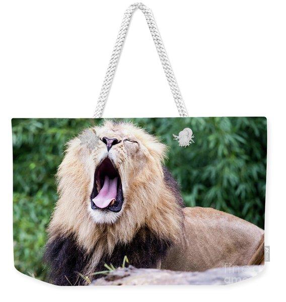 The Yawn Weekender Tote Bag