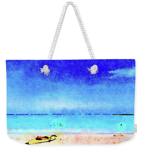 The Yellow Kayak Weekender Tote Bag