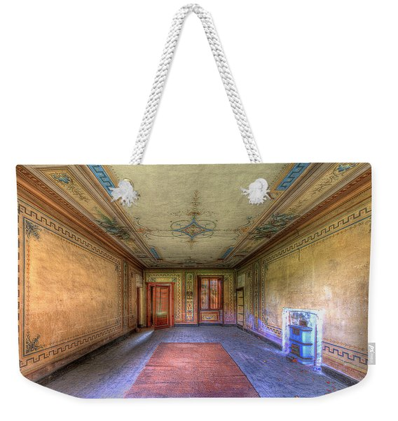 The Yellow Room Of The Villa With The Colored Rooms Weekender Tote Bag