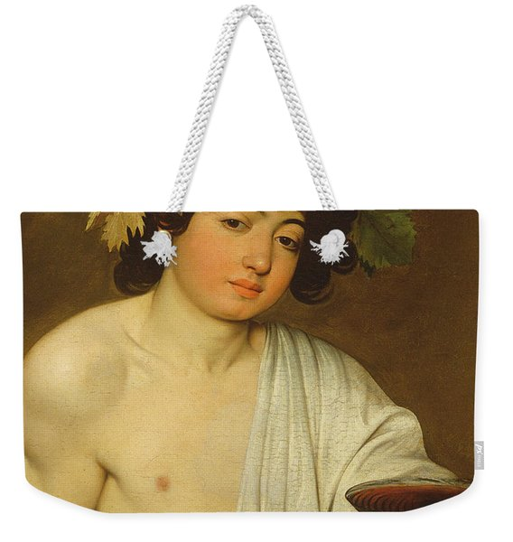 The Young Bacchus Weekender Tote Bag