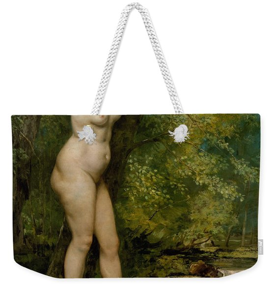 The Young Bather, 1866 Weekender Tote Bag