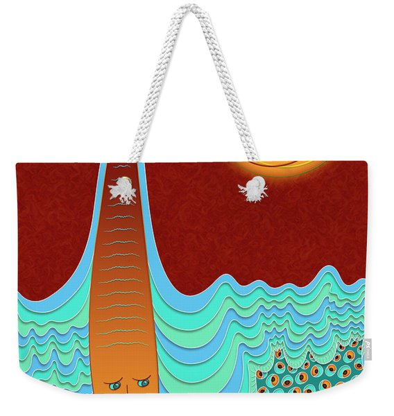 The Young Man And The Sea Weekender Tote Bag