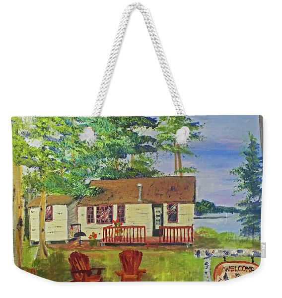The Young's Camp Weekender Tote Bag