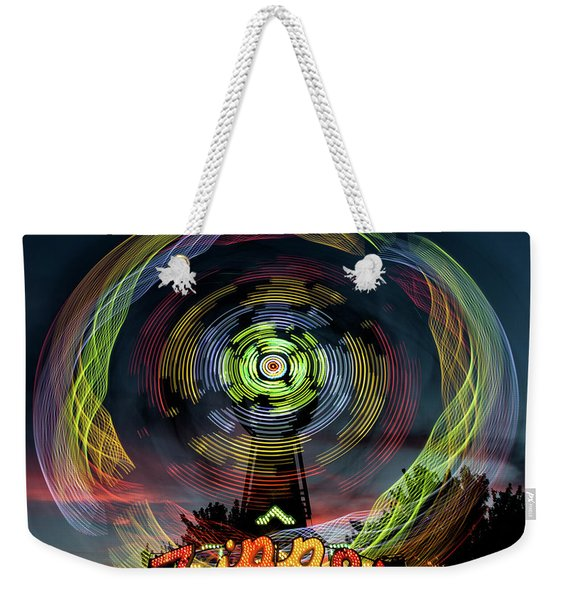 The Zipper Motion Art By Kaylyn Franks Weekender Tote Bag