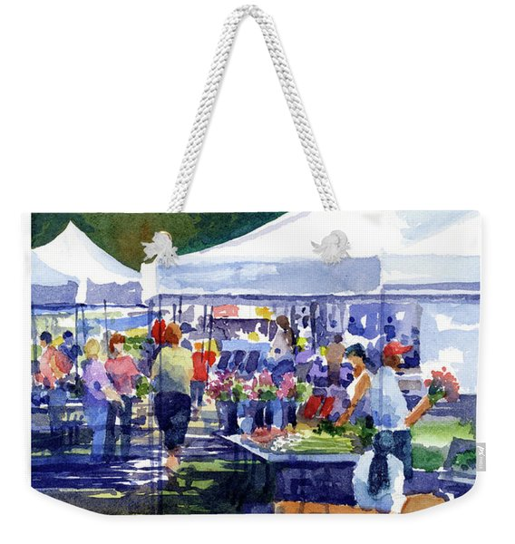 Theinsville Farmers Market Weekender Tote Bag