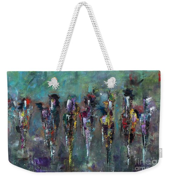 Then Came Seven Horses Weekender Tote Bag