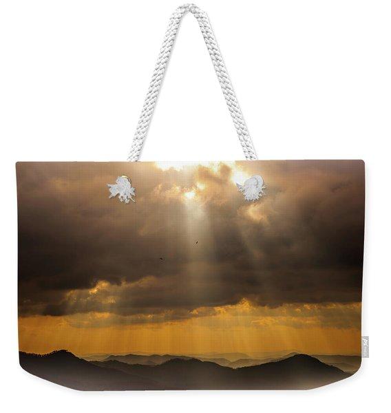 Then Sings My Soul Weekender Tote Bag