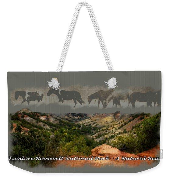 Theodore Roosevelt National Park Weekender Tote Bag