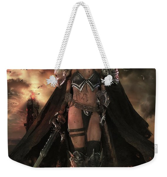 There Be Dragons Weekender Tote Bag