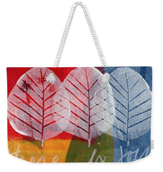 There Is Joy Weekender Tote Bag