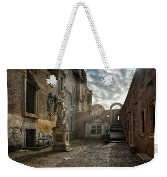 There S An Angel Weekender Tote Bag