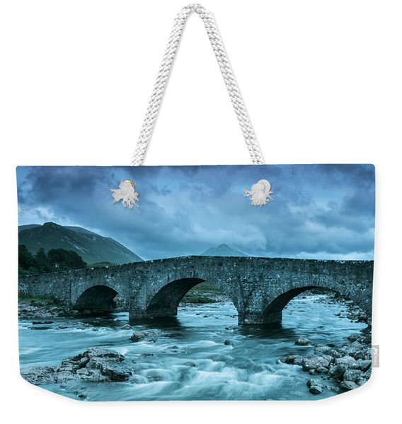 There Will Be Bridges Weekender Tote Bag